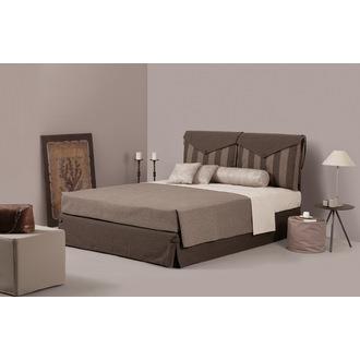 bfd825cc042 Ντυμένο Κρεβάτι Ημίδιπλο Linea Strom Bettina 130x200 cm