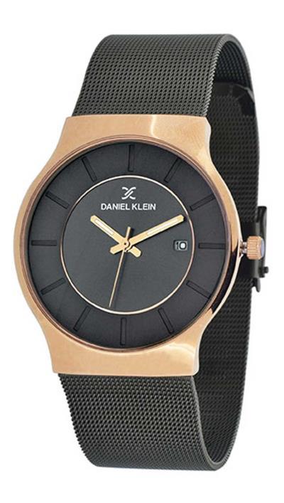 Ρολόι Daniel Klein με ημερομηνία και γκρι μπρασελέ DK11389-5 65bec72b7a4