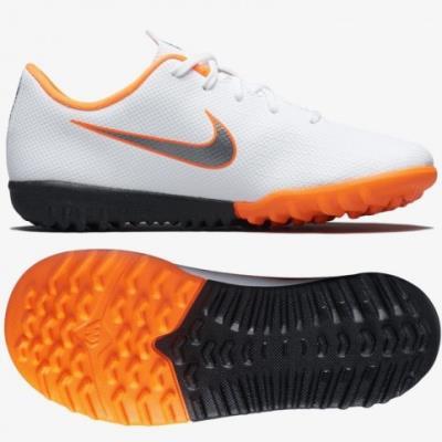 timeless design b6a63 59b92 Nike Mercurial VaporX 12 Academy TF Jr AH7353-107 Football Boots