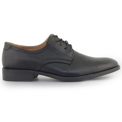 Ανδρικά loafers με περφορέ λεπτομέρεια Μαύρο 058ac4c0b15