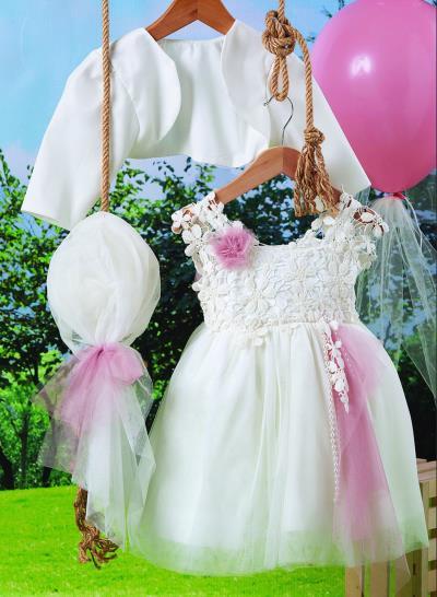efb9f0e4505 Φόρεμα Βάπτισης Carousel Τούλι Με Δαντέλα Κωδ:7645