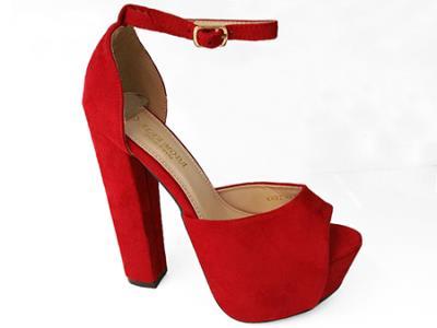 1+1 Κόκκινα Πέδιλα KK02 RED 708f2dbbc97