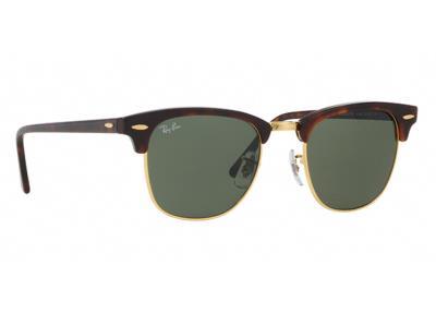 da95ddc351 Γυαλιά ηλίου Rayban ClubMaster 3016 W0366 Σκούρο Καφέ  Ταρταρούγα Πράσινος(W0366)