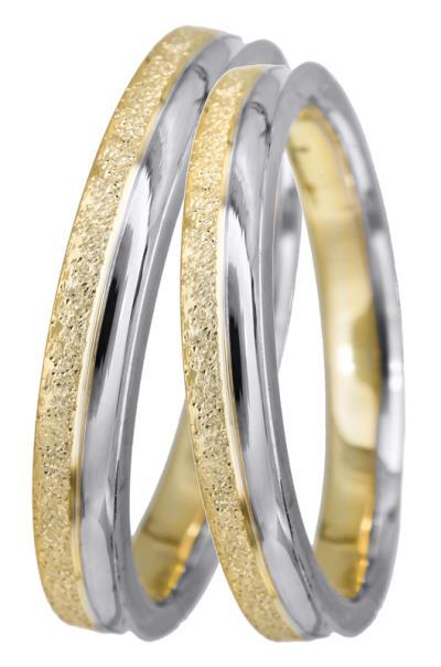 Πρωτότυπες βέρες γάμου BRS0953D BRS0953D Χρυσός 14 Καράτια μεμονωμένο  τεμάχιο fbf2dc7f213