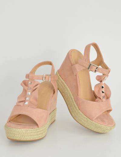 γυναικεία ροζ huxley  u0026amp  grace σουεντ - Totos.gr f3ffc1c77f6