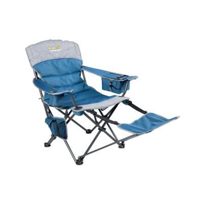 1db5994a85 Καρέκλα Σπαστή Με Υποπόδιο Oztrail Monarch Footrest D - Μπλε OZTRAIL