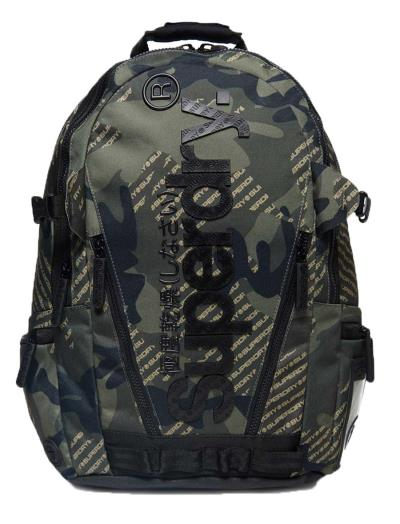 Superdry - M91007MT 030 - Camo Logo Tarp BackPack - Khaki - Τσάντα -  camouflage a4944dd7cf7