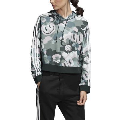 adidas Originals Cropped Hoodie – Γυναικείο Φούτερ DV2661 - MULTCO b50046a3315