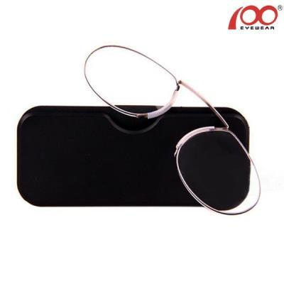 Γυαλιά Πρεσβυωπίας Τσέπης σε Μέγεθος Πιστωτικής Κάρτας - Nose Clip Reading  Glass 3f9b7dd61d5