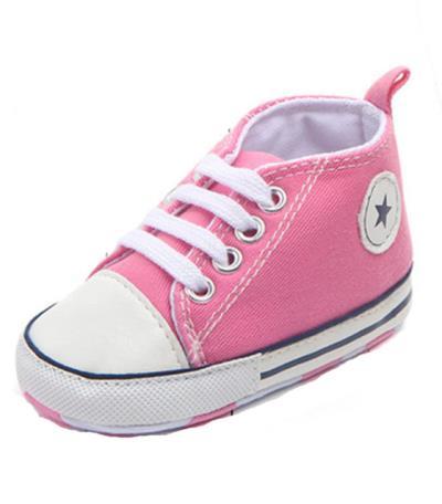 436f1d2f2ed Ροζ βρεφικά παπούτσια αγκαλιάς