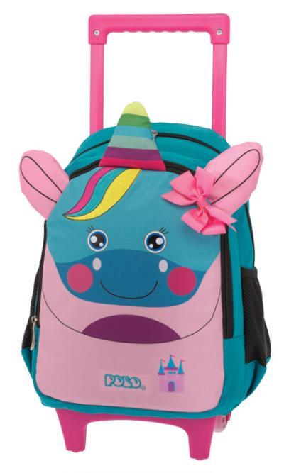 c864db58d9 Σχολική τσάντα POLO νηπίου τρόλεϋ ANIMAL JUNIOR PONY 9-01-008-73 (2018)