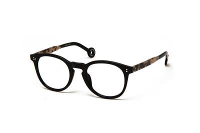 6850afe3ab Eyeglasses Hally   Son HS 622 V03 Unisex Black Round Clear