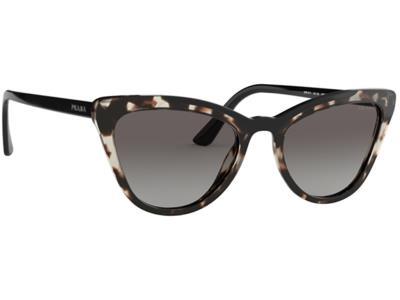 Γυαλιά ηλίου Prada PR 01VS 3980 A7 Καφέ Ταρταρούγα Μαύρο Γκρι Ντεγκραντέ  (3980 A 7bdbc4585e0