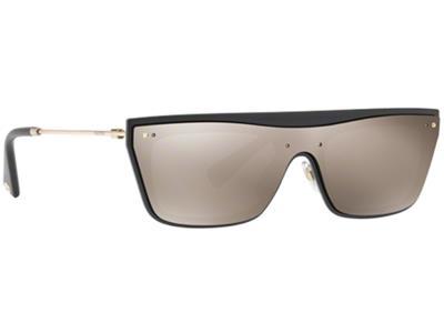 d50963dbe4 Γυαλιά ηλίου Valentino VA 4016 50015A Μαύρο Χρυσός Καθρέφτης (50015A) PC  Lenses