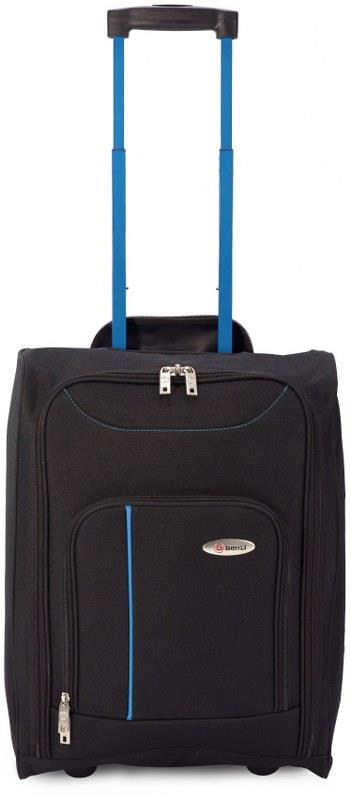7aed4b52fe Βαλίτσα Καμπίνας Τρόλευ με Ρόδες benzi 4891 - benzi - BZ-4891-black-blue