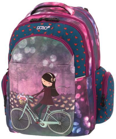 f38f284589 POLO Σχολική τσάντα πλάτης EXPAND 901254-19 2019