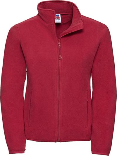 079ed6f27b5a Microfleece Full Zip Russell R-883F-0 - Classic Red