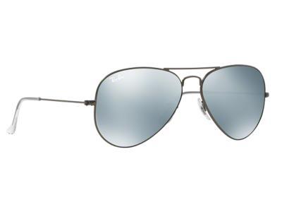 a3047306f9 Γυαλιά ηλίου RayBan Aviator Flash Lenses 3025 029 30 Ασημί Ματ Ασημί  Καθρέφτης