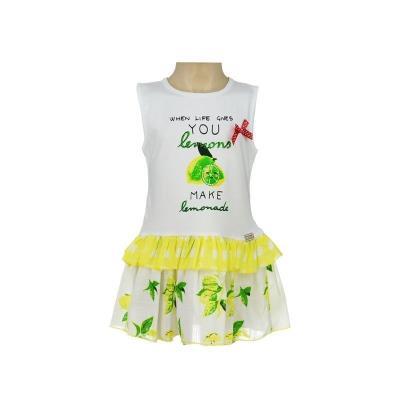 f8ee97fff744 παιδικά κοριτσι ασπρο φορεματα εβιτα girl - Totos.gr