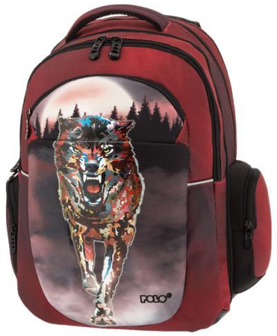 8c8c5d1a33 POLO Σχολική τσάντα πλάτης EXPAND 901254-30 2019