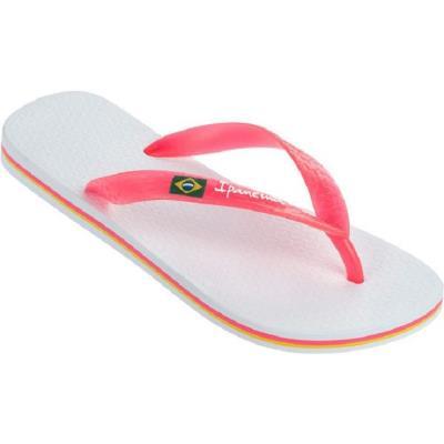 6d225fe9011 IPANEMA IPANEMA Σαγιοναρες Γυναικειες Brazil II White/Neon Pink