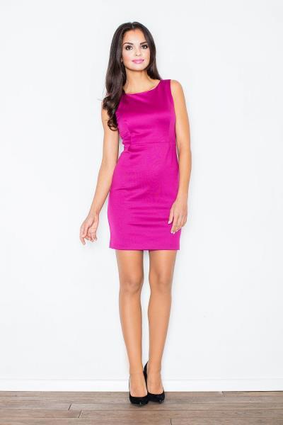 961ee71035e Αμάνικο μίνι φόρεμα - Ροζ Μωβ. Άμεσα διαθέσιμο. fashioneshop.gr ...