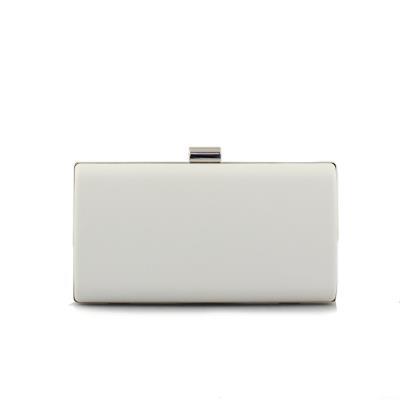 5d99077046 Γυναικείοι φάκελοι clutch με αλυσίδα Λευκό