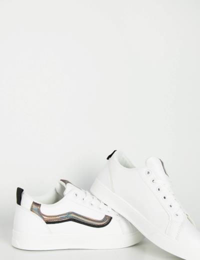 a334248eb1a γυναικεία μαυρο sneakers ασπρο λευκα - Totos.gr