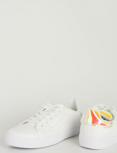 ec6ef4f446f γυναικεία ασπρο sneakers ροζ - Totos.gr