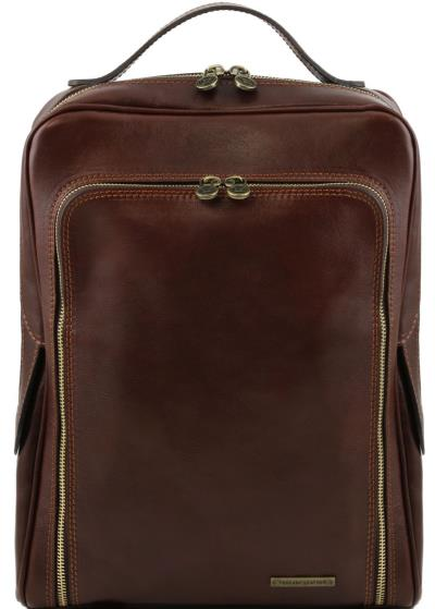 83e06295044 Ανδρική Τσάντα Δερμάτινη Πλάτης Bangkok Καφέ σκούρο Tuscany Leather