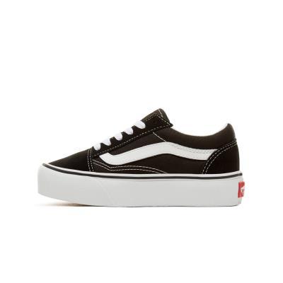 30c4bcab8c0 Vans Kids Old Skool Platform Shoes VA3TL36BT - BLACK/WHITE