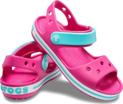 a5a1d1ba61f Crocs Crocband Sandal 12856-6LH Candy Παιδικά Πέδιλα Φουξ Crocs