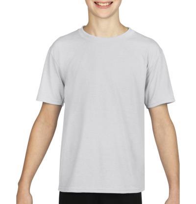 Gildan Performance Youth T-Shirt Gildan 42000B - White 9fc4029ea01