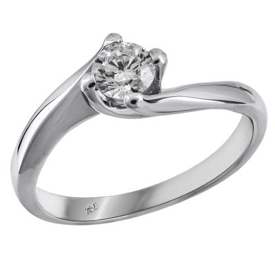 Δαχτυλίδια μονόπετρα μπριγιάν τιμές 016383 016383 Χρυσός 18 Καράτια 31fd07ebc48
