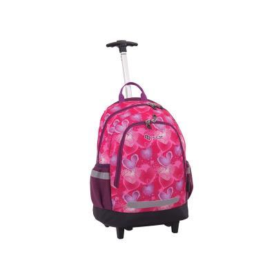 c266278eea1 Pulse Τρολευ Πλατης Mini Wheels Pink Heart 121078