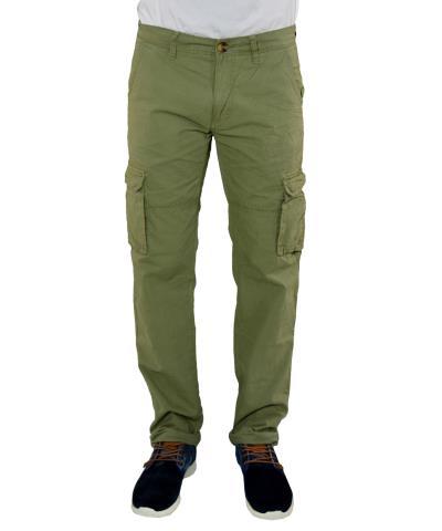 Ανδρικό παντελόνι Battery χακί 17D900371 d09bcb6f819