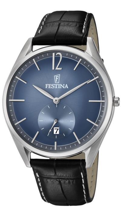Ρολόι Festina ημερομηνίας με μαύρο λουράκι F6857 3 03949ad35ef