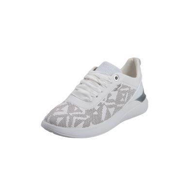 fb739fbe357 Geox D828SC 00085 C1001 Theragon nappa White sneakers
