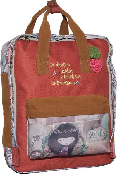 6240bdc17e Τσάντα Δημοτικού Anekke Nature BMU 346-92040
