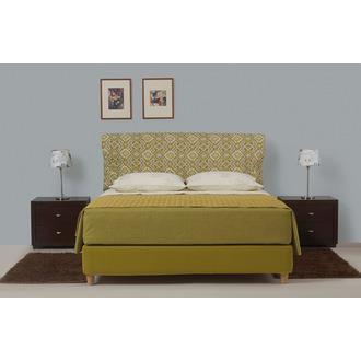 175c5248c81 Ντυμένο Κρεβάτι Ημίδιπλο Linea Strom Frida 130x200 cm