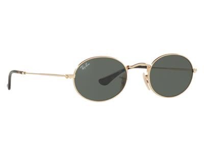 Γυαλιά ηλίου Ray-Ban Oval Metal RB 3547N 001 Χρυσό Γκρι Πράσινος (001)  Κρύσταλλο c6c5ef0258