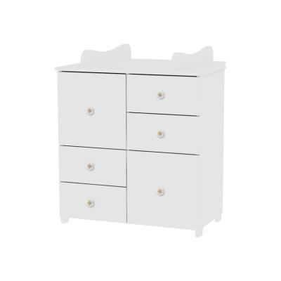 c512a9aff68 Συρταριέρα Cupboard White Lorelli 10170110024A (ΔΩΡΟ αλλαξιέρα)