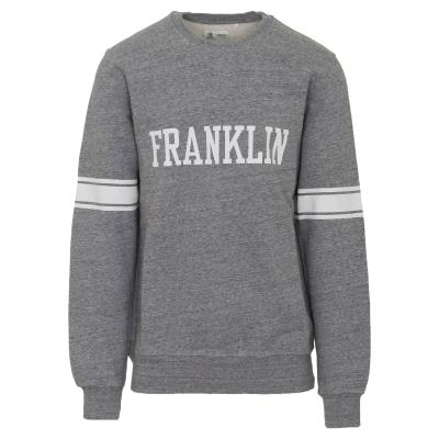 FRANKLIN   MARSHALL M FLEECE ROUND NECK SWEATER - FLMF016ANW18-2300 GREY 508006c9bef