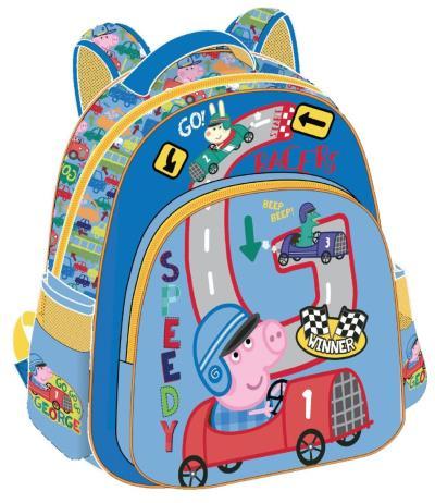 632520dcea Peppa Pig Τσάντα Πλάτης Νηπίου με Αδιάβροχη Τσέπη 27x31x10cm