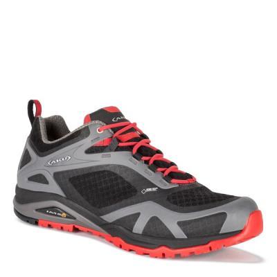 8631fc43e90 Παπούτσια Πεζοπορίας Aku ALPINA LIGHT GTX ΜΑΥΡΟ-ΚΟΚΚΙΝΟ