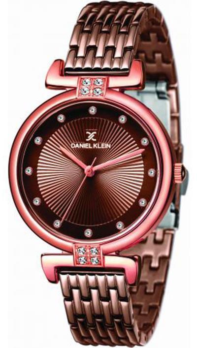 Ρολόι Daniel Klein premium με καφέ μπρασελέ DK11416-4 79a3f0ed1a8