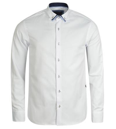 b2c992d781ac ανδρικά ασπρο πουκαμισα dash u0026dot - Totos.gr