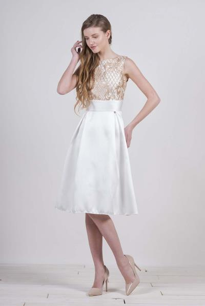 a378388e3b0f Φόρεμα χαμόγελο V πλάτης αμάνικο μπούστο δαντέλα - 17124