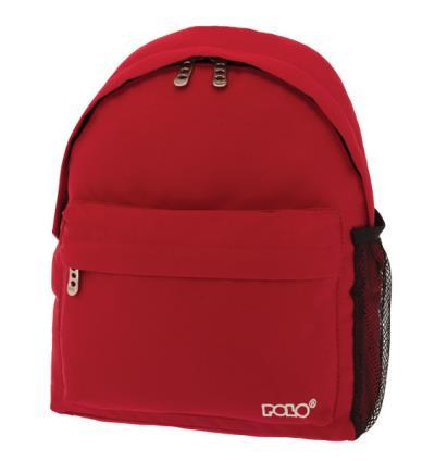 0f93add0f0 Σχολική τσάντα POLO νηπίου πλάτης MINI BAG ΚΟΚΚΙΝΗ 9-01-067-03 (2018)